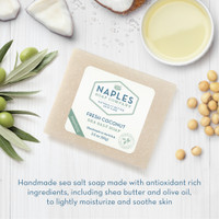 Fresh Coconut Sea Salt Soap Ingredients
