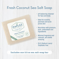 Fresh Coconut Sea Salt Soap Key Benefits