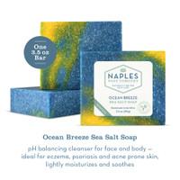 Ocean Breeze Sea Salt Soap Description