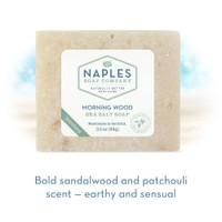 Morning Wood Sea Salt Soap Short Description