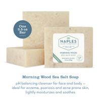 Morning Wood Sea Salt Soap Description