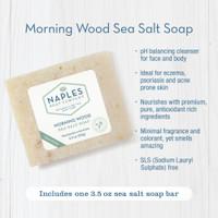 Morning Wood Sea Salt Soap Key Benefits