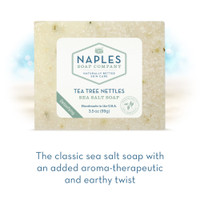 Tea Tree Nettles Sea Salt Soap Short Description