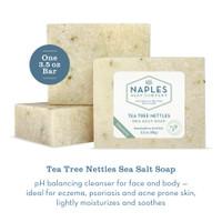 Tea Tree Nettles Sea Salt Soap Description