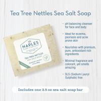 Tea Tree Nettles Sea Salt Soap Key Benefits