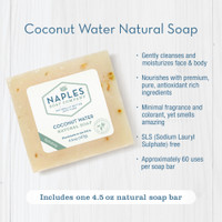 Coconut Water Natural Soap Key Benefits
