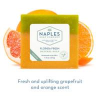 Florida Fresh Natural Soap Short Description