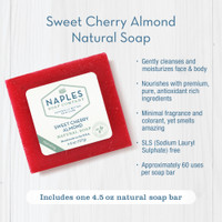 Sweet Cherry Almond Natural Soap Key Benefits
