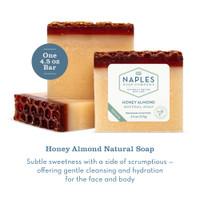 Honey Almond Natural Soap Description