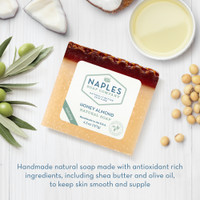 Honey Almond Natural Soap Ingredients