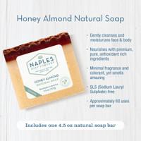 Honey Almond Natural Soap Key Benefits