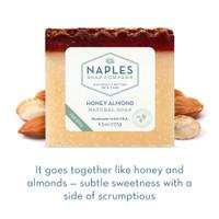 Honey Almond Natural Soap Short Description