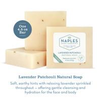 Lavender Patchouli Natural Soap Description