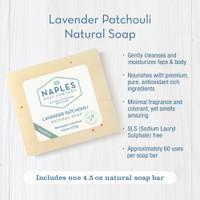Lavender Patchouli Natural Soap Key Benefits