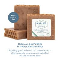 Oatmeal Goat's Milk and Honey Natural Soap Description