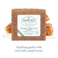 Oatmeal Goat's Milk and Honey Natural Soap Short Description