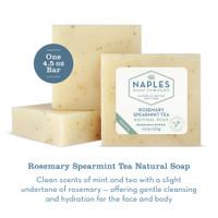 Rosemary Spearmint Tea Natural Soap Description