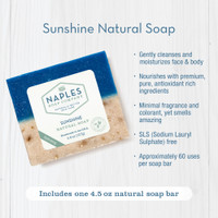 Sunshine Natural Soap Key Benefits