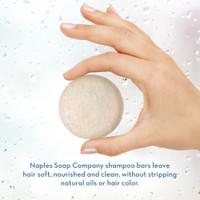 Unscented Shampoo Bar Hand Info