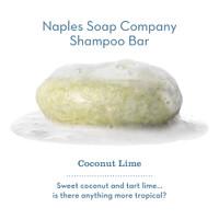 Coconut Lime Shampoo Bar Hero