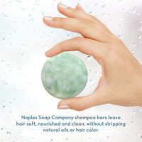 Stimulating Shampoo Bar Hand Info