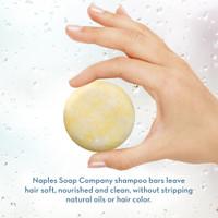 Coconut Water Shampoo Bar Hand Info