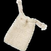 Drawstring Sisal Soap Sack
