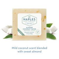 Almond Coconut Water Natural Soap Short Description