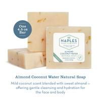 Almond Coconut Water Natural Soap Description