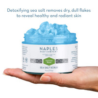 Coconut Water Sea Salt Scrub Open Hand Display