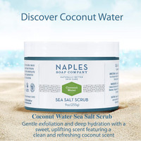 Coconut Water Sea Salt Scrub Description