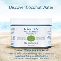 Coconut Water Sea Salt Scrub Description