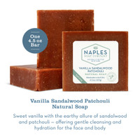 Vanilla Sandalwood Patchouli Natural Soap Description