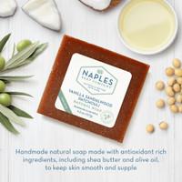 Vanilla Sandalwood Patchouli Natural Soap Ingredients