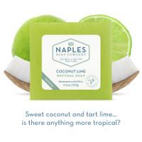 Coconut Lime Natural Soap Short Description
