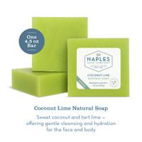 Coconut Lime Natural Soap Description