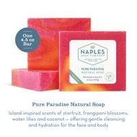 Pure Paradise Natural Soap Description