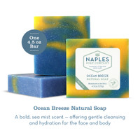 Ocean Breeze Natural Soap Description