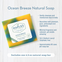 Ocean Breeze Natural Soap Key Benefits