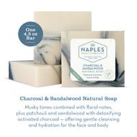 Charcoal & Sandalwood Natural Soap Description