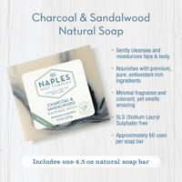 Charcoal & Sandalwood Natural Soap Key Benefits