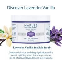 Lavender Vanilla Sea Salt Scrub Description