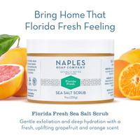 Florida Fresh Sea Salt Scrub Description