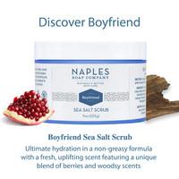Boyfriend Sea Salt Scrub Description