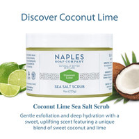 Coconut Lime Sea Salt Scrub Description