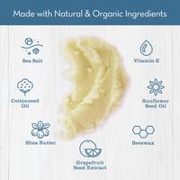 Coconut Lime Sea Salt Scrub Ingredients