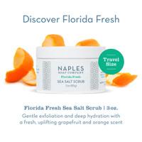 Florida Fresh Sea Salt Scrub 3 oz