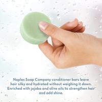 Eucalyptus Hemp  Conditioner Bar Hand Info