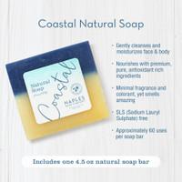 Coastal Natural Soap Key Benefits