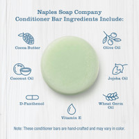 Coconut Lime Conditioner Bar Icons